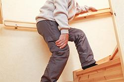 階段昇降時の膝の痛み
