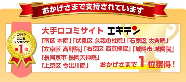 口コミ&検索ランキング1位獲得!